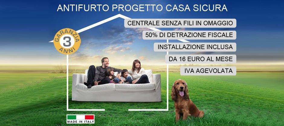 Preventivo antifurto casa sicura roma impianti allarme con e senza fili - Antifurto casa costi ...