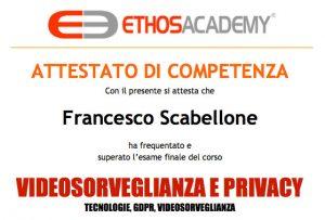 videosorveglianza privacy Ing. Francesco Scabellone