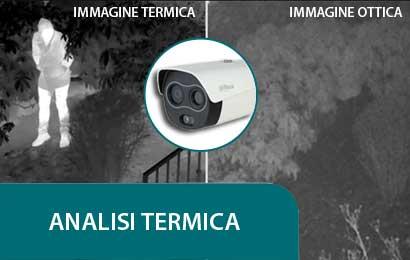 analisi termica delle immagini videosorveglianza