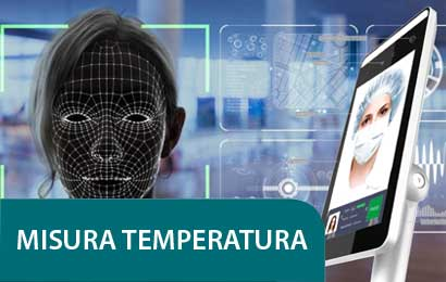 impianti misura temperatura corporea e presenza mascherina