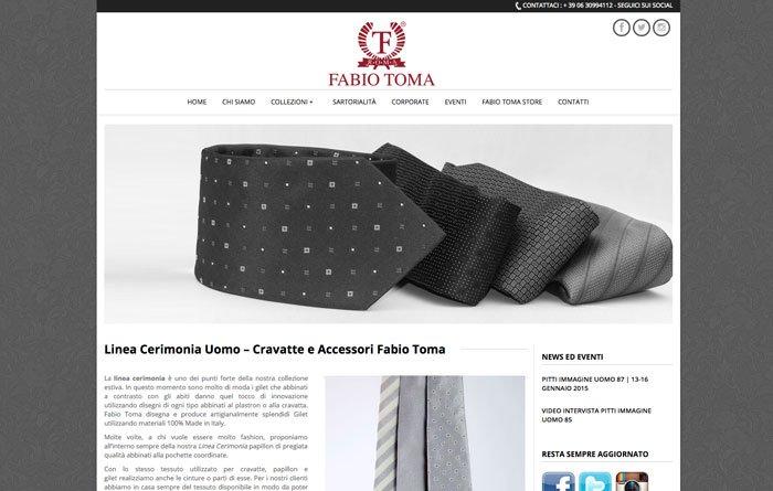 Fabiotoma.com - Pagina Linea Cerimonia
