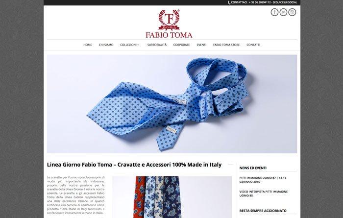 Fabiotoma.com - Pagina Linea Giorno