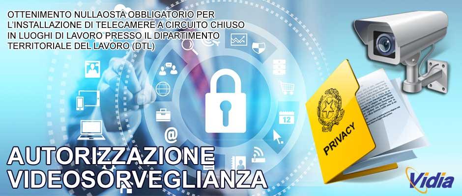 autorizzazione videosorveglianza telecamere privacy