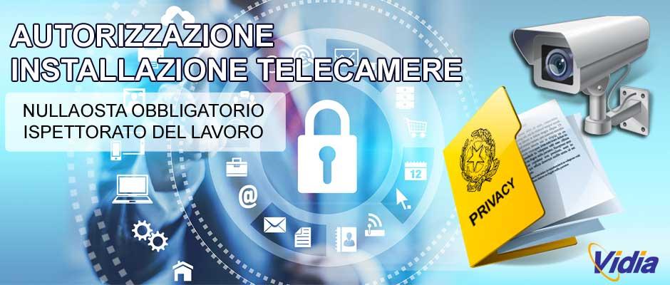 autorizzazione videosorveglianza telecamere privacy roma