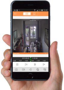 Controllo remoto delle registrazioni tramite iPhone