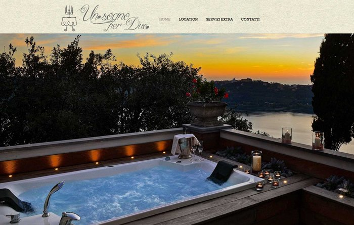 unsognoperdue home page jacuzzi