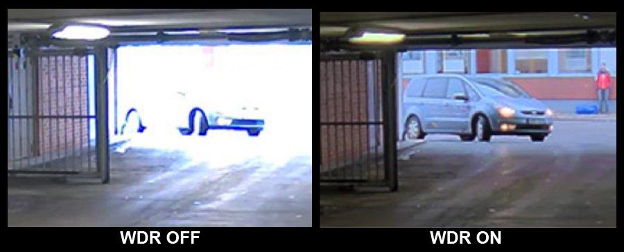 WDR Telecamere ingresso garage