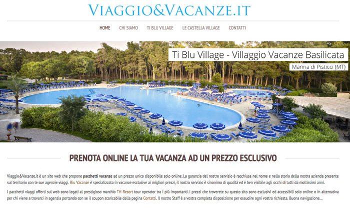 Viaggioevacanze banner Ti Blu Village Home