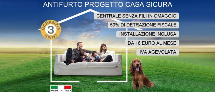 Allarme senza fili Roma - Installazione Antifurto Wireless Professionali
