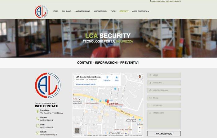 sito lca pagina contati