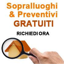 preventivi e sopralluoghi gratuiti roma e provincia