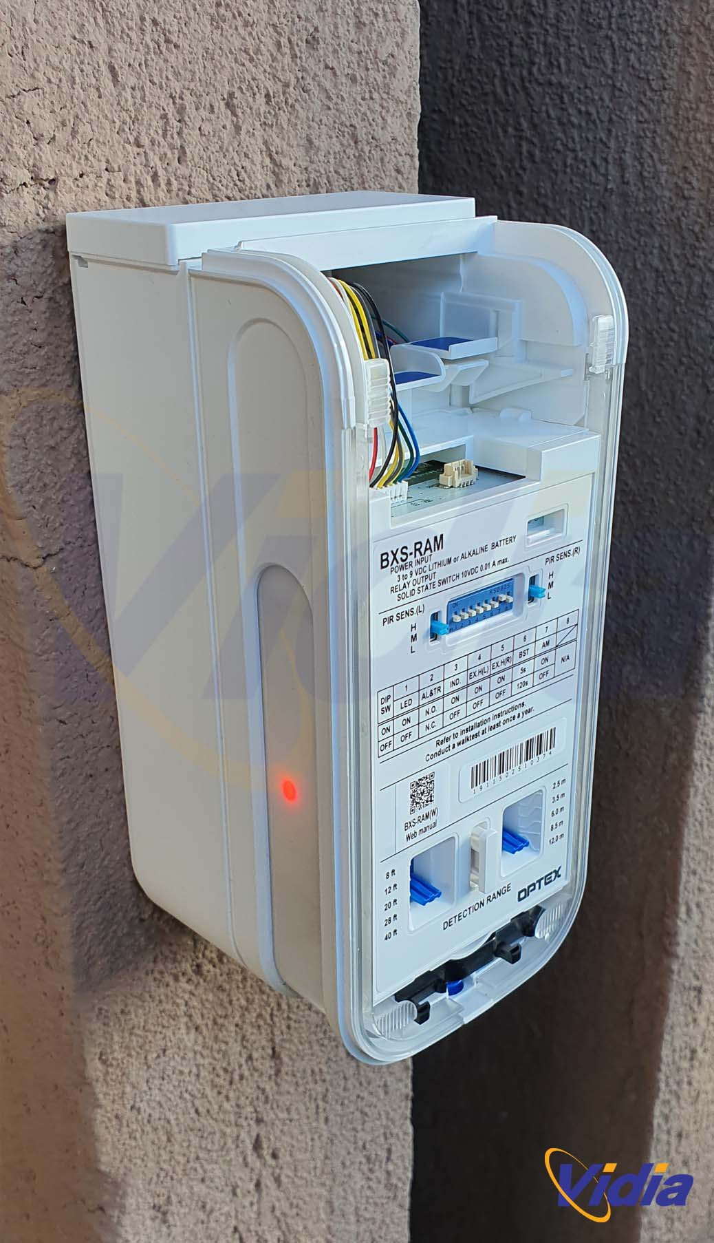 Optex BX installazione